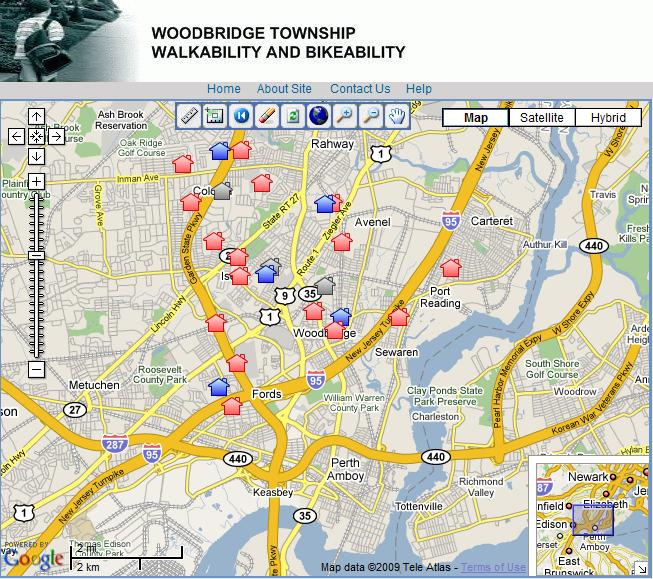 Woodbridge Map